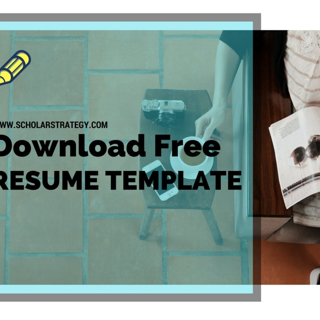 Download Free Resume Template For Ms Mis Applications